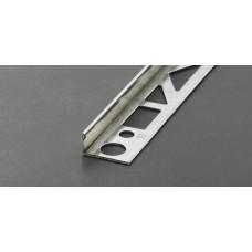 Profloor γωνιακό προφίλ πλακιδίων ανοξείδωτο ατσάλι 10mm 2,5m