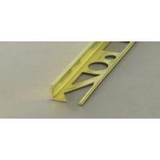 Profloor γωνιακό προφίλ πλακιδίων μπρούτζου 10mm 2,5m